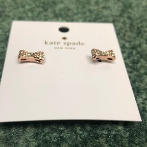 kate spade Jewelry - Kate Spade Ready Set Bow Earrings
